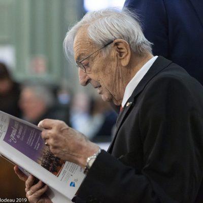 Homme d'une grande curiosité, Joseph Rouleau lisait attentivement chacun de nos programmes!