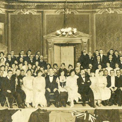 Circa 1920. Photograph by Société d'histoire Mouillepied — Fonds Société chorale de Saint-Lambert.